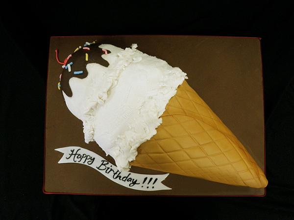 OТорт мороженое: как украсить торт в виде мороженого?