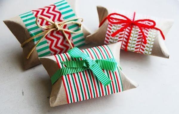 Красивые коробочки из ткани