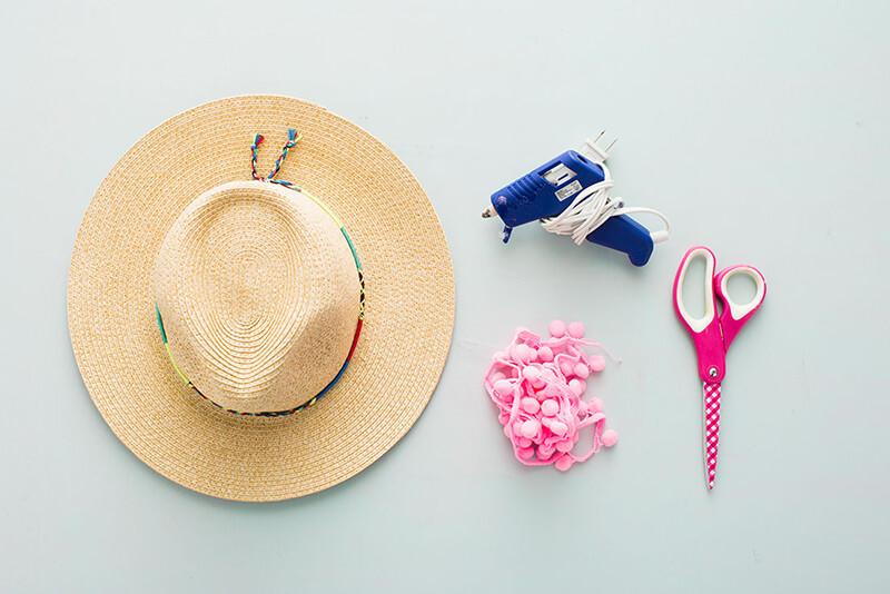 Украшение на шляпку своими руками 745