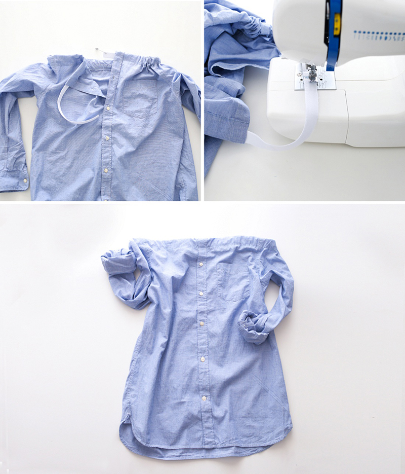 Платье рубашка: платье из рубашки своими руками