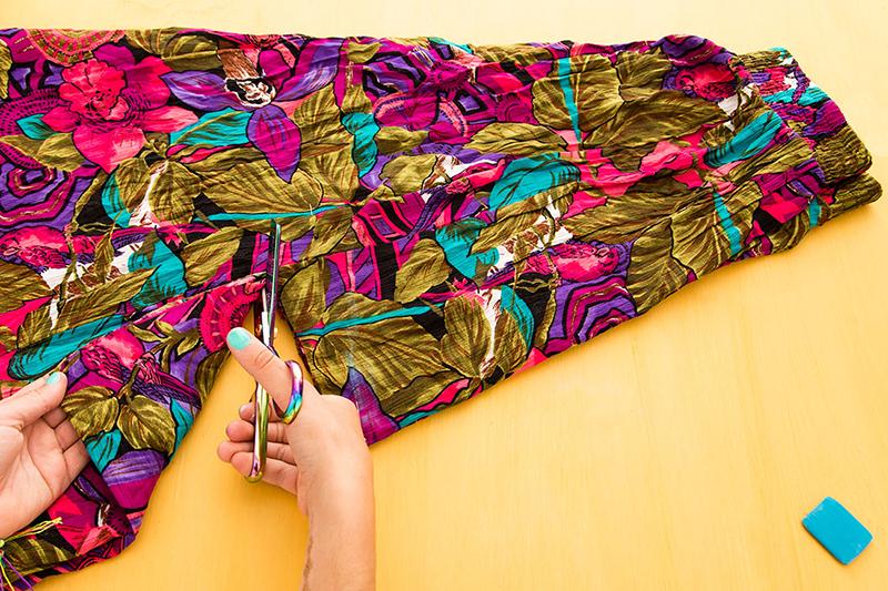 Летний сарафан: сарафан из юбки своими руками