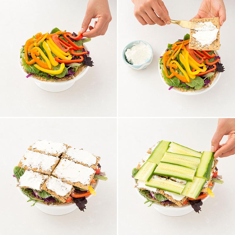 Салат торт: торт салат рецепт