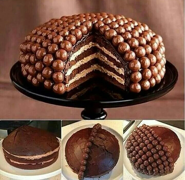украшения тортов своими руками фото