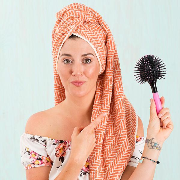 Круглая расческа: круглая расческа для укладки волос Mark Hill