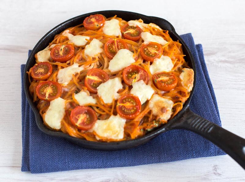 рецепт из готовых макарон в духовке