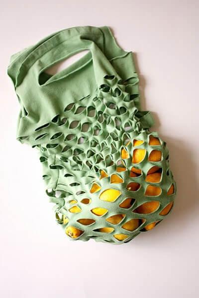 Сумка из майки своими руками. Как сделать сумку из старой футболки?