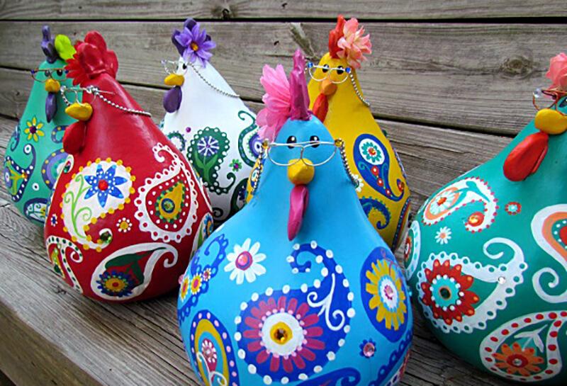 Курица или петух своими руками