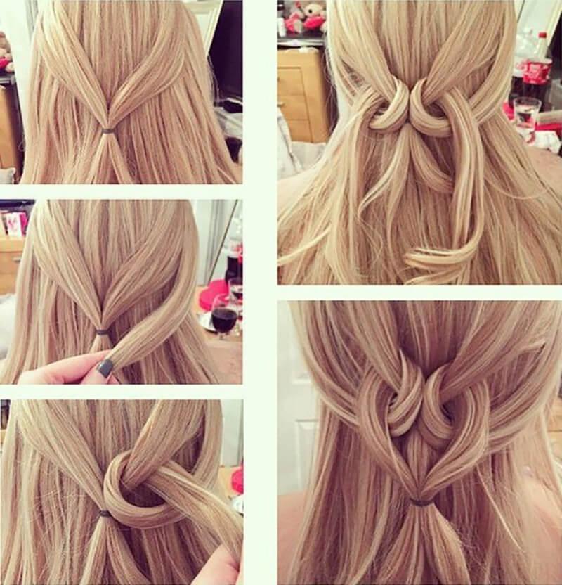 Прически с длинными волосами своими руками для девочек