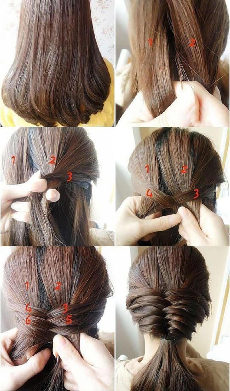 Фото лёгких причесок для длинных волос