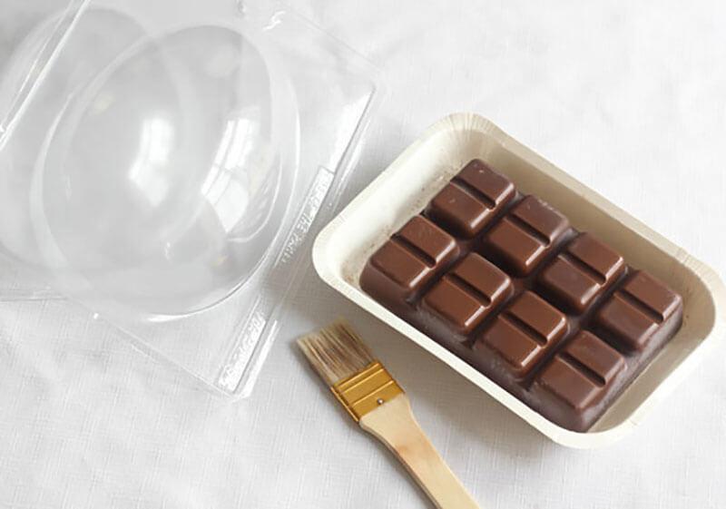 Шоколадные плитки своими руками 6