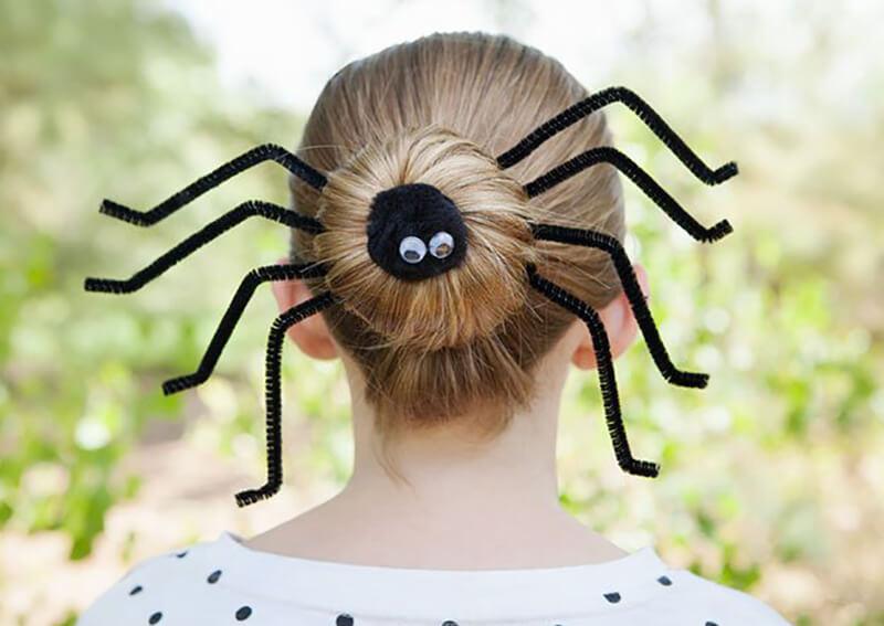 прически паука фото