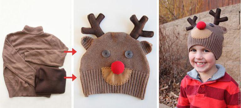 Из чего делают новогодние шапки