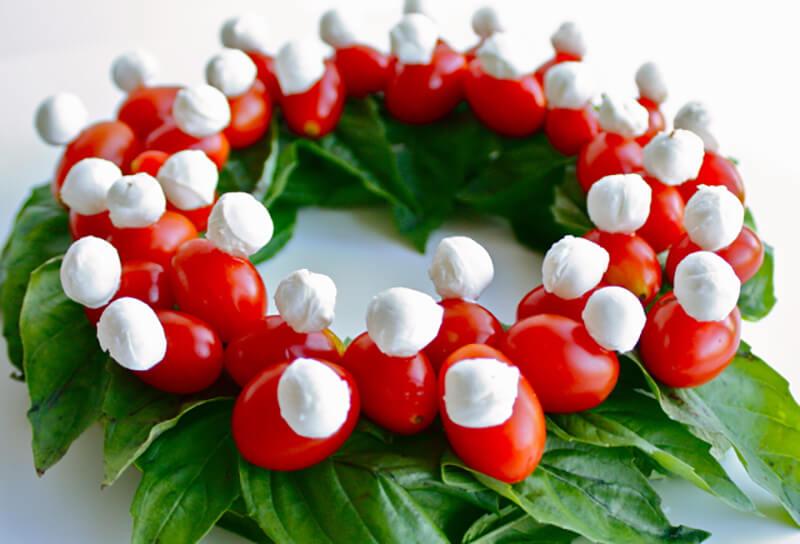 Праздничная нарезка. Новогодняя нарезка на праздничный стол (колбаса, сыр, овощи)