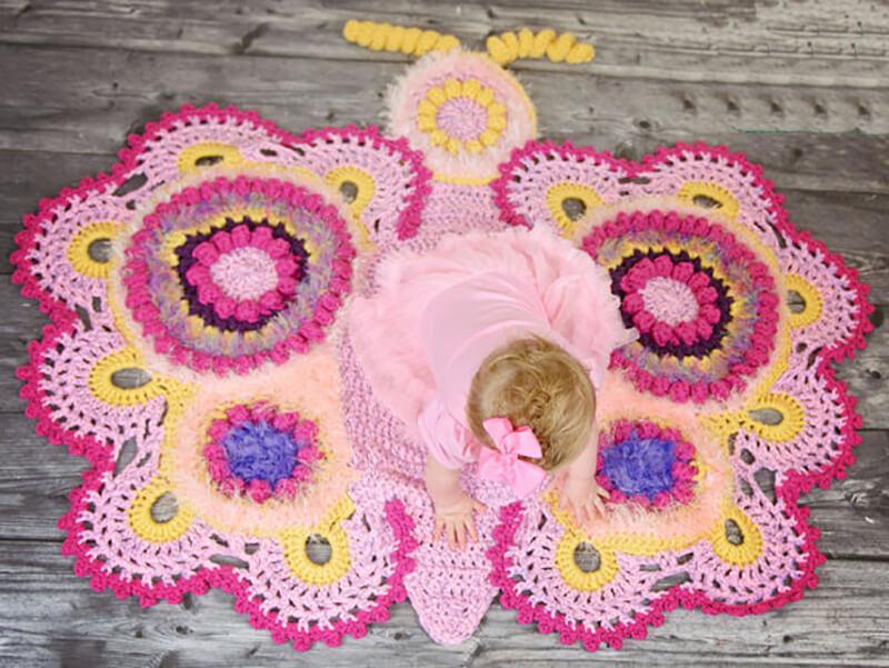 Идеи коврика для детей своими руками