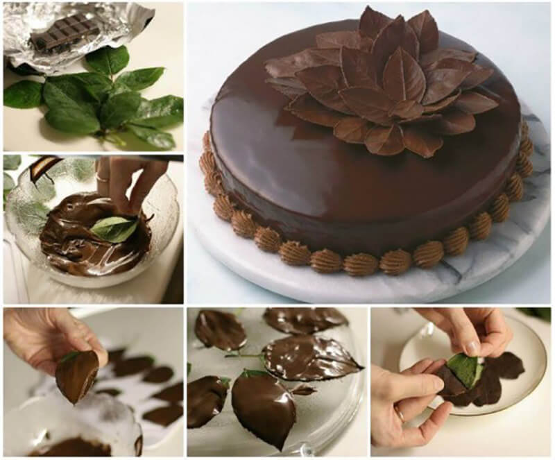 Из шоколада своими руками для торта 784