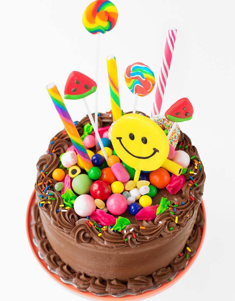 Торты с днем рождения в домашних условиях