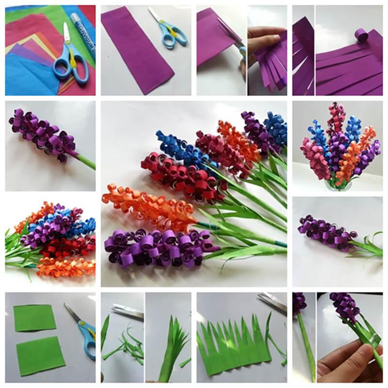 Цветы своими руками сделанные детьми фото 76