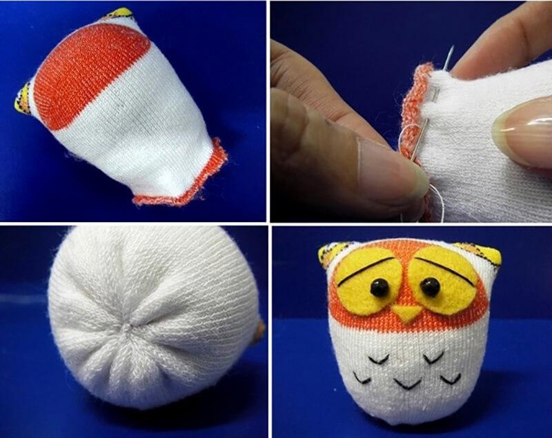Сделать игрушки из носок своими руками 901