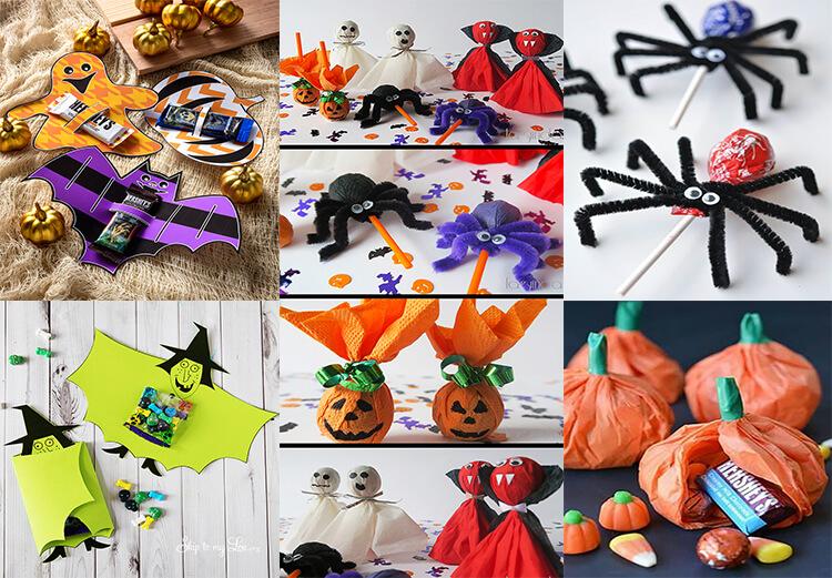 Подарок на хэллоуин своими руками 29