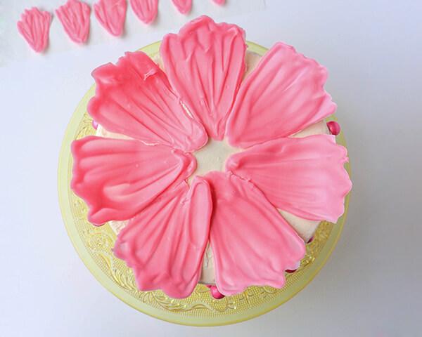 Цветы для украшения тортаы