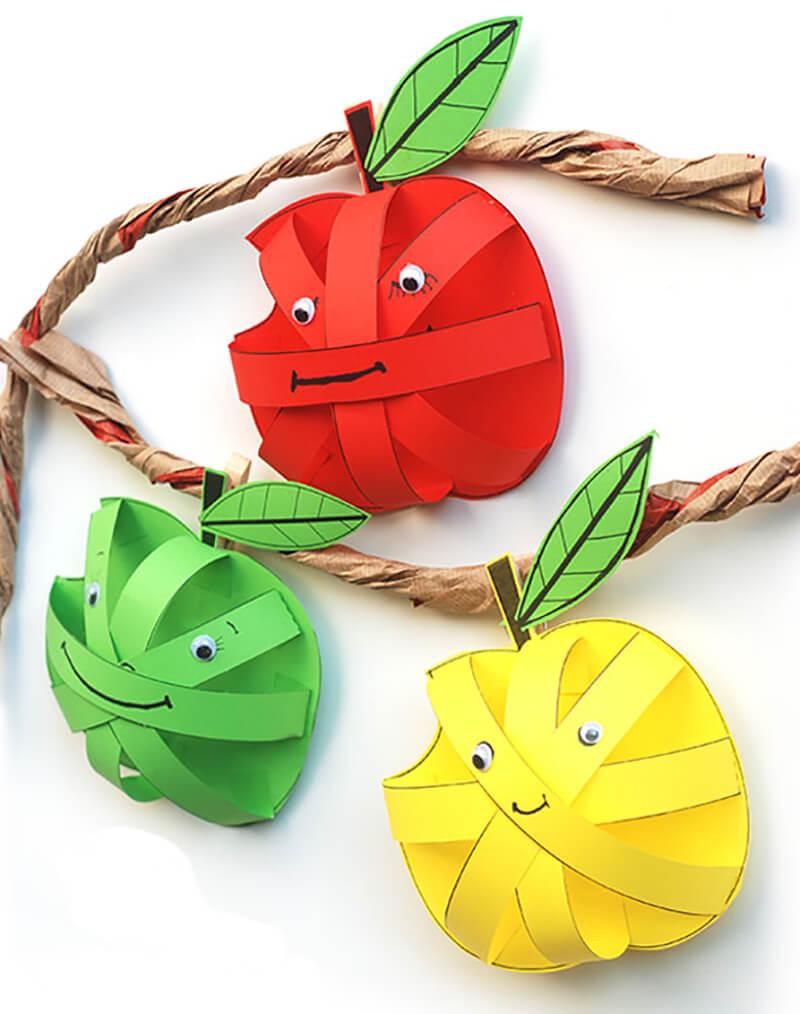 Красивые детские поделки из овощей и фруктов своими руками с