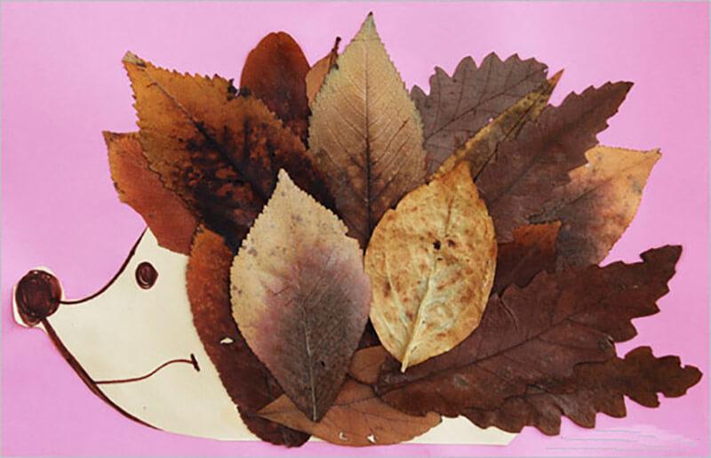 Листья и поделки из них