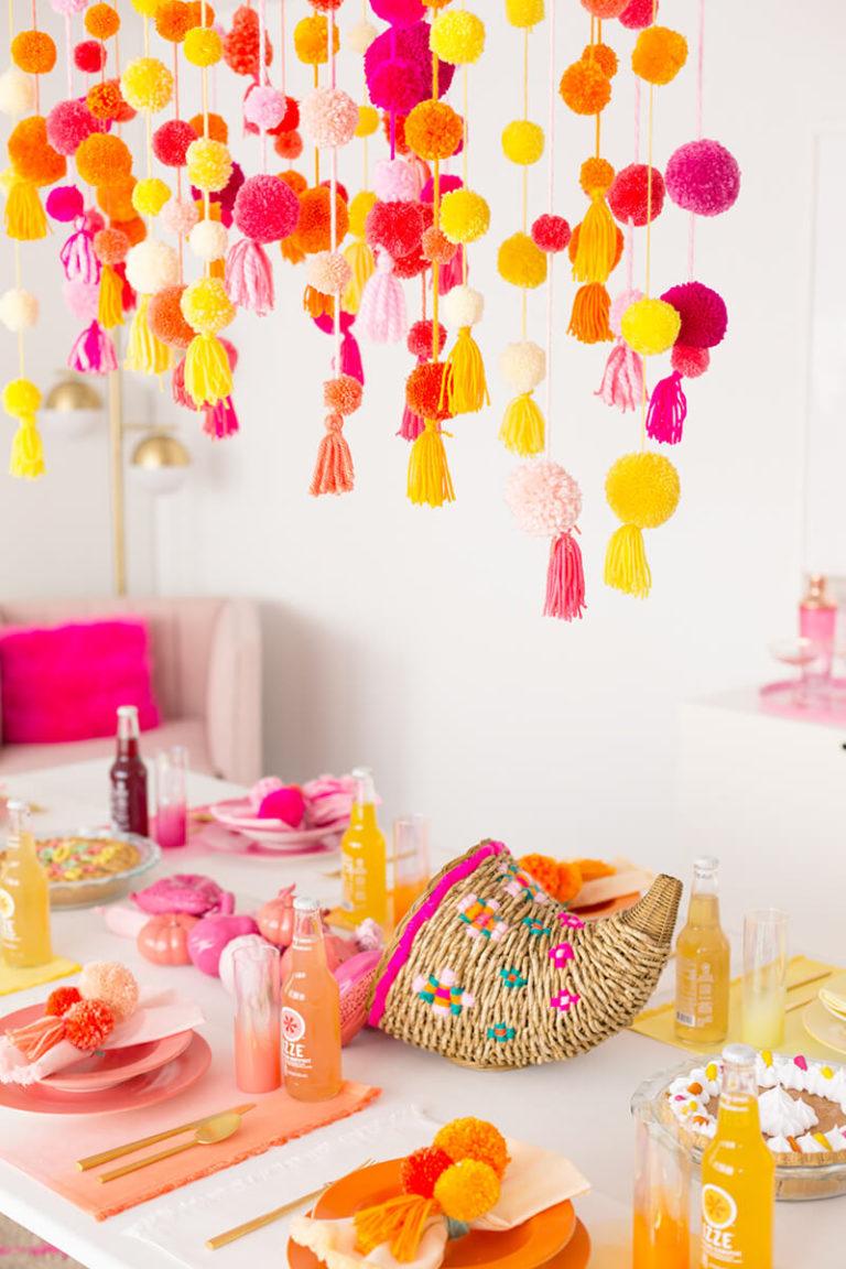Украсить комнату для дня рождения своими руками