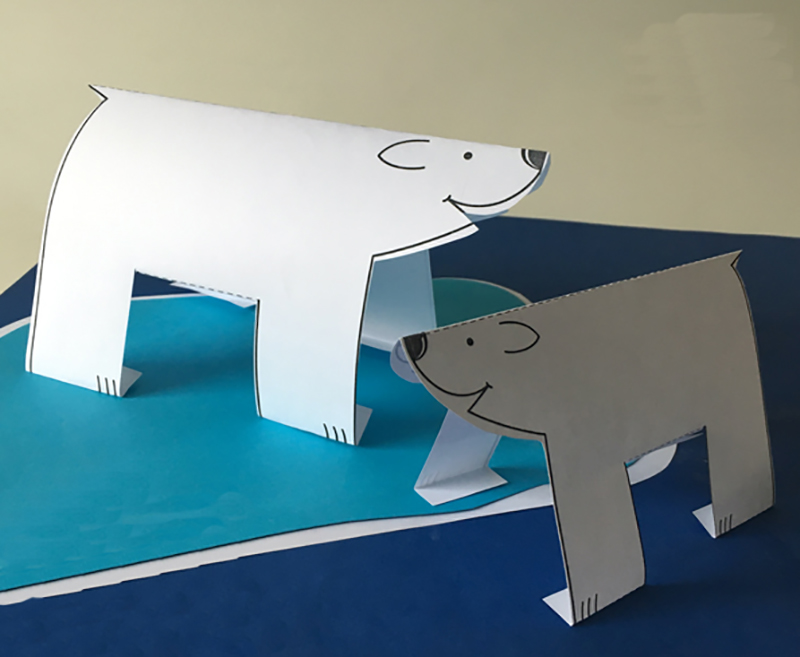 Как сделать медведя для поделки