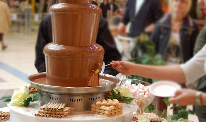 Корпоратив. Шоколадные фонтаны