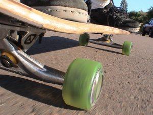 Скейтборд - роликовая доска