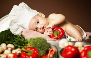 Овощи и фрукты для питания детей