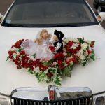 Украшения свадебных машин. Чем украшают свадебную машину?