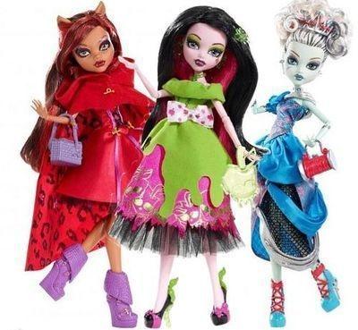 Монстер Хай. Кукла Монстер Хай – отличный подарок для девочки