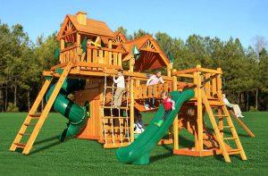 Детский игровой комплекс. Детский игровой комплекс для дачи своими руками