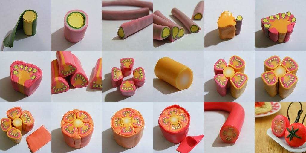 Еда для кукол. Как сделать еду для кукол из полимерной глины?