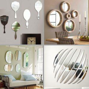 Декоративные зеркала. Настенные декоративные зеркала в интерьере