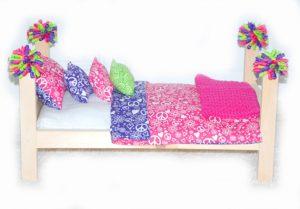 Как сделать постель для куклы фото 46