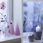 Как украсить окно к Новому 2015 году, году овцы/козы?