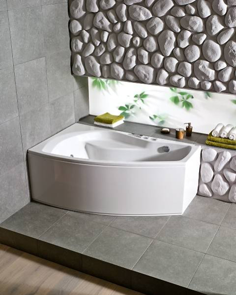 Идеи для ванной комнаты. Оригинальная ванная комната