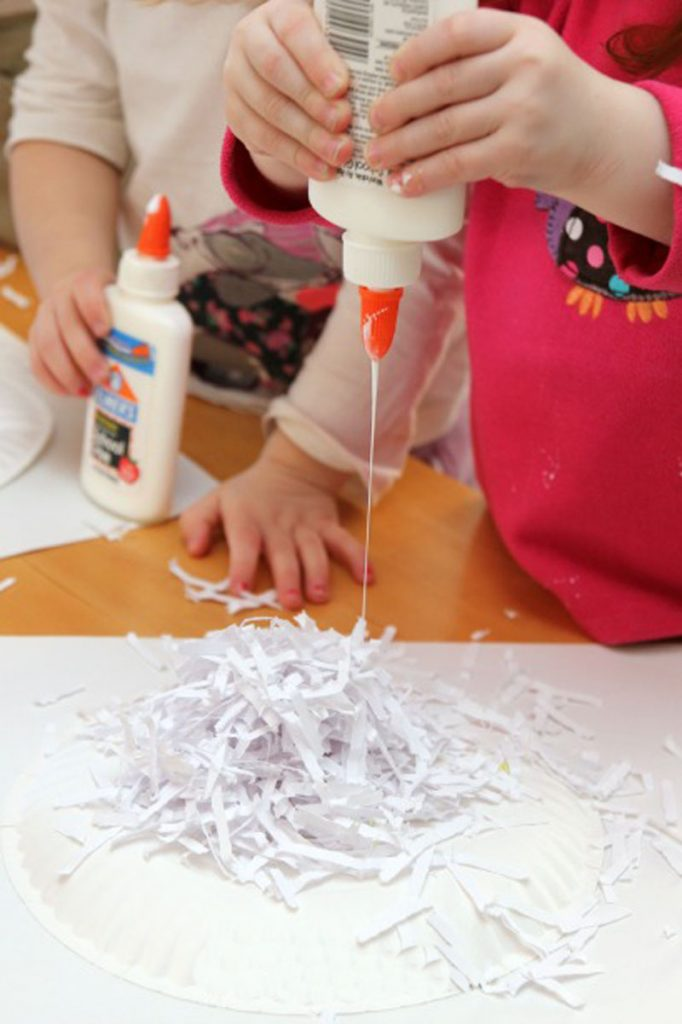 Детские поделки: Овечка из бумаги своими руками