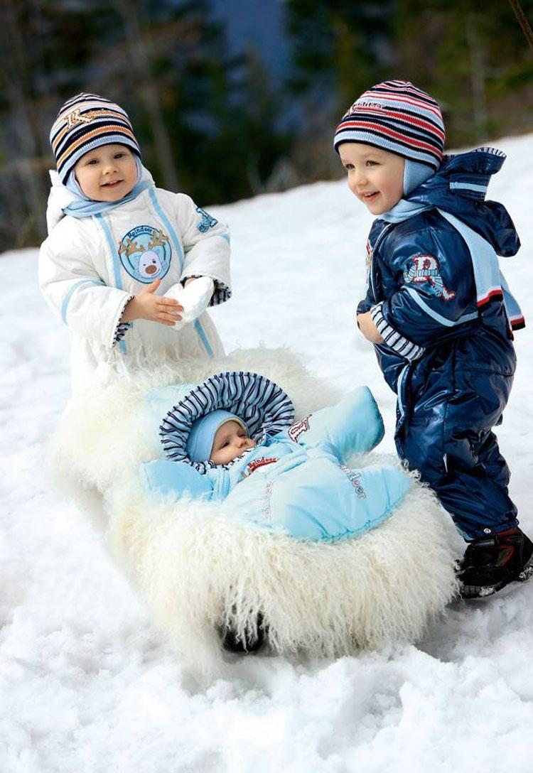 Детские комбинезоны для зимы: виды детских комбинезонов, какой детский комбинезон выбрать?