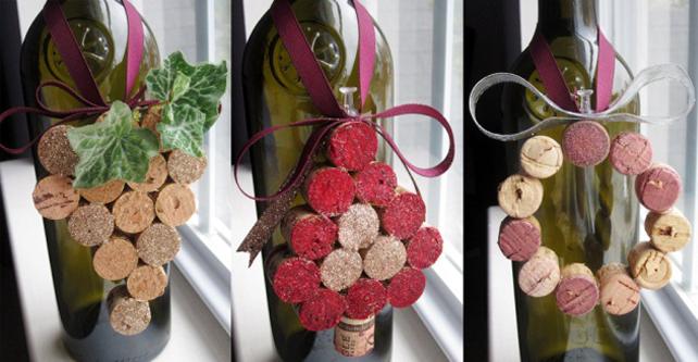 Как украсить бутылку шампанского к Новому году?