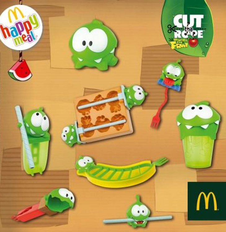Какие игрушки сейчас в Макдональдс? Игрушки в Макдональдс сентябрь 2014?