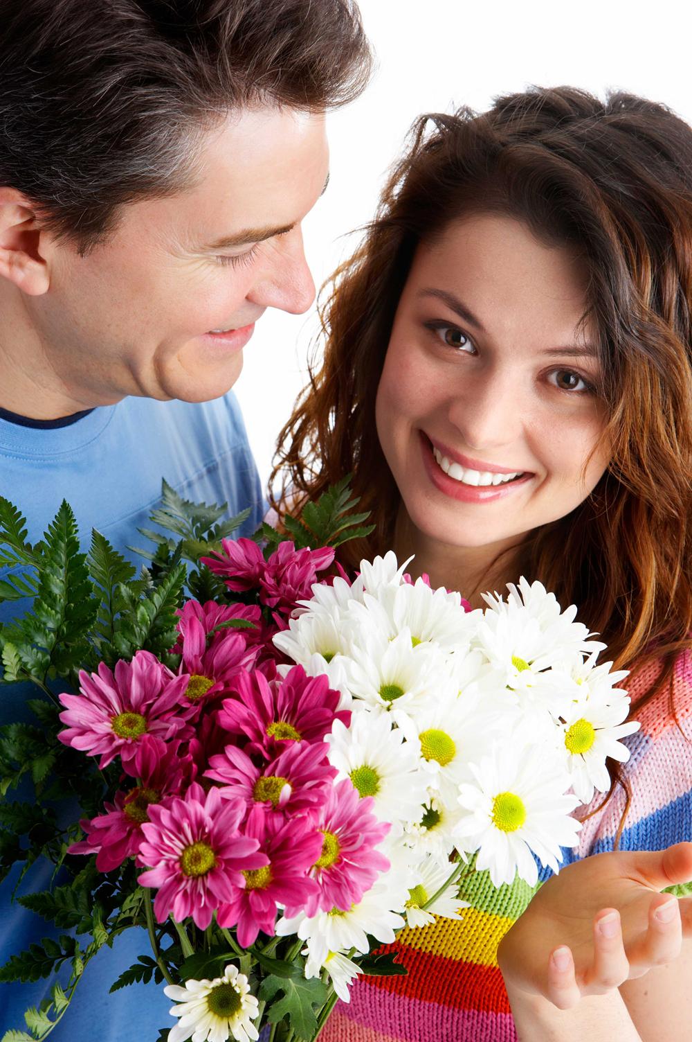 Цветы картинки с парой