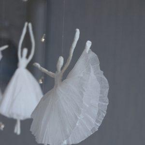 Как сделать из салфетки балерину 324