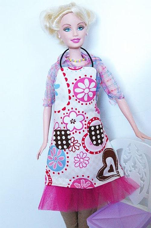 Фартук для куклы своими руками. Как сделать фартук для кукол Монстр Хай, Барби, Братц?
