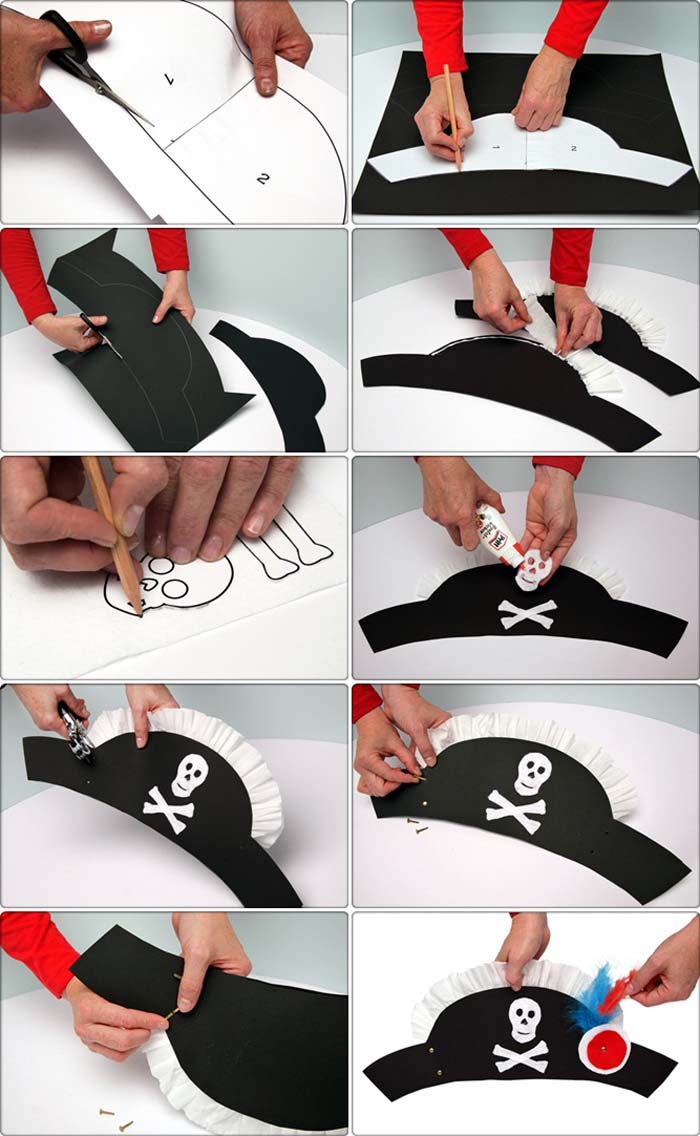 Как сделать шляпу пирата фото 103