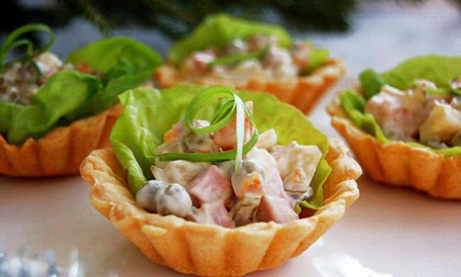 Как украсить салат Оливье: фото, идеи и советы