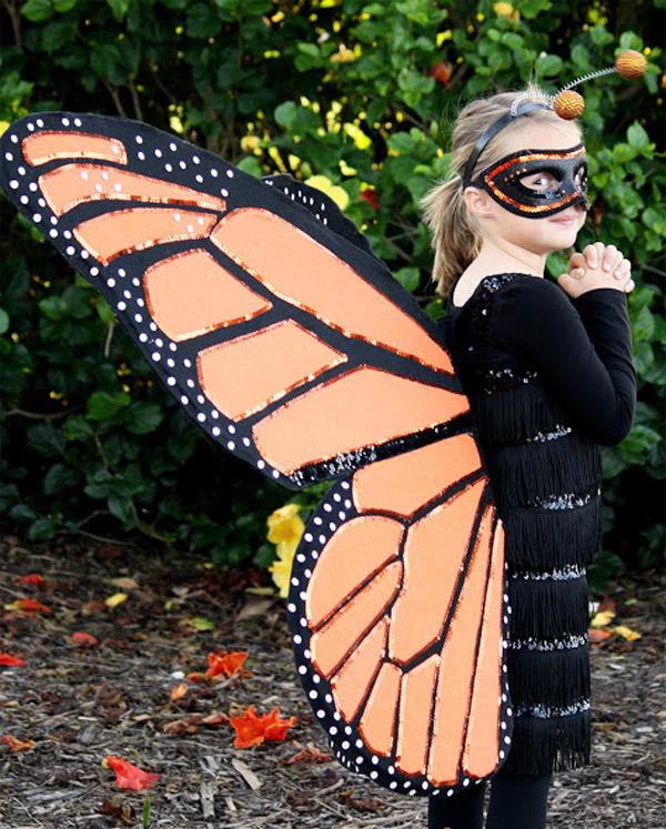 Костюм бабочки. Как сделать новогодний костюм бабочки своими руками?