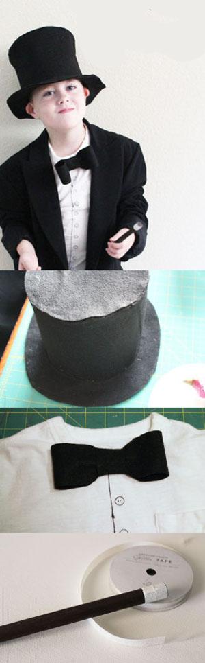 Костюм волшебника/фокусника. Как сделать новогодний костюм волшебника/фокусника своими руками?